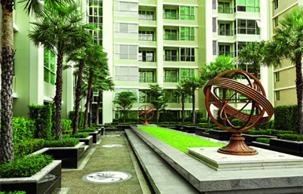 The-Address-Chidlom-condo-Bangkok-garden